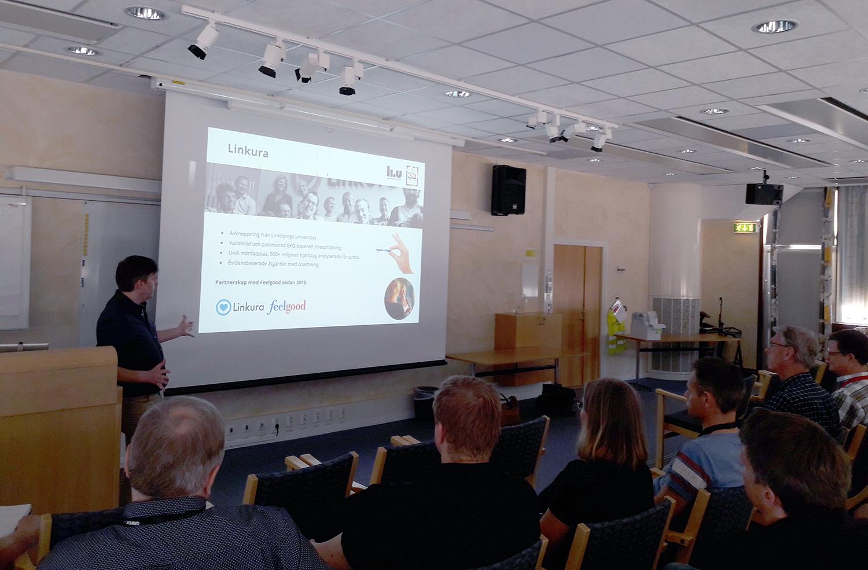 Saab satsar på sina medarbetare med Linkuraprogrammet